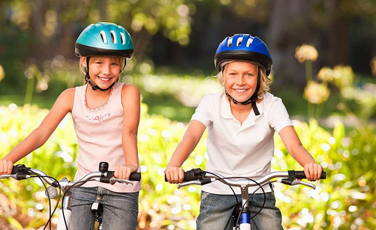 Fahrradunfall ohne Helm