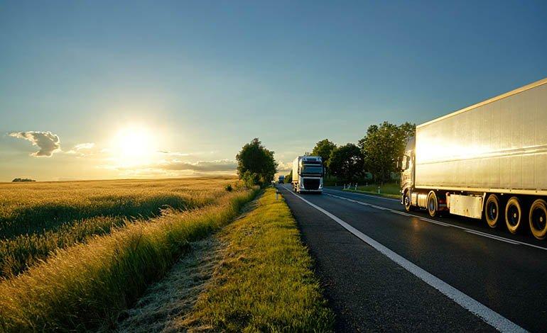 Eingeschränkter Lkw-Verkehr während der Ferienzeit