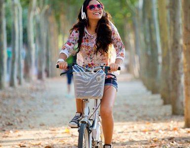 Musik hören beim Radfahren erlaubt?