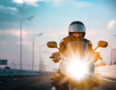 Schutzbekleidung Motorradfahrer