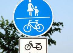 Radwege nur für Radfahrer