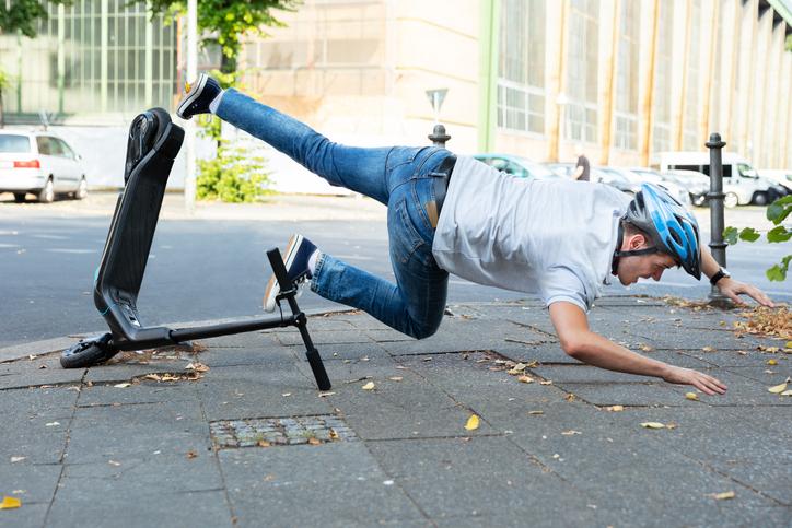 E-Scooter Unfall Lexika Verlag lexika lexika.de